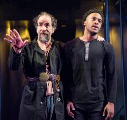 Glendower (U. Jonathan Toppo) and Hotspur (Tyler Fauntleroy). 1 Henry IV, Folger Theatre, 2019. Photo: C. Stanley Photography.