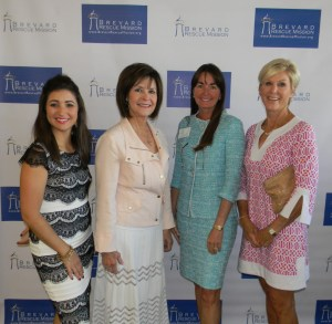 Megan Renfro, Luncheon Chair; Pennie DiPrima, Tina Euler and Theresa Williams