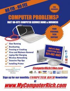 Computer Rich, Brevard, NO FIX, NO FREE