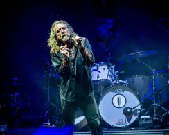 Robert Plant at Mountain Jam 2015 — Photo by Jim Gilbert