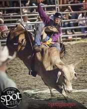 Spotted: Double M Professional Rodeo Aug 6 in Ballston Spa, NY.