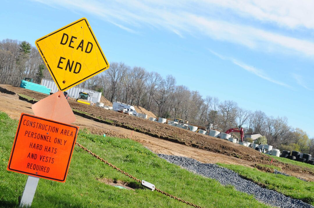 The Sandy Creek Farm in Glenmont is now home to a new housing development.