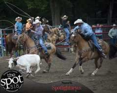 Spotted: Double M Professional Rodeo July 21 in Ballston Spa, NY.