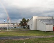 The Albany County Hockey Facility with the Albany International Airport in the background. (Jim Franco/Spotlight News)
