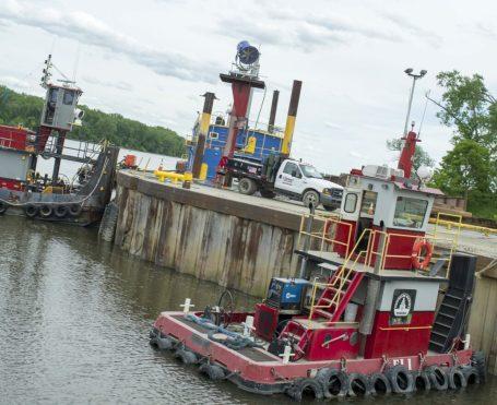 Port of Coeymans on June 4.