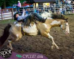 Double M Rodeo Friday, Aug. 9 in Malta. Full house and full speed.