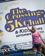 Crossings 5k in Colonie Sept. 26.