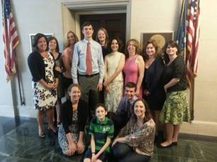 Decoding Dyslexia Virginia, Decoding Dyslexia PA, Decoding Dyslexia - NJ, and Will met with Barbara from Congressman Bill Cassidy's (LA) office. Congressman Cassidy was one of the original Co-Chairs of the Dyslexia Caucus in the House.