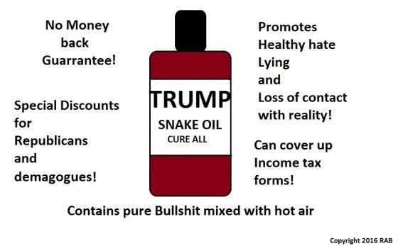 Trump Snake Oil