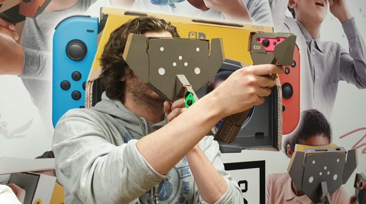 Nintendo Labo VR vs  Oculus Quest - Quick Comparison Huide