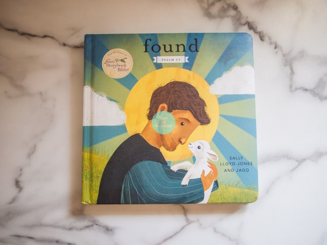 Found by Sally Lloyd Jones Christian children's books family devotions Christianity