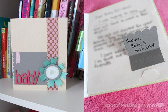 Pregnancy Reveal Card | Spotofteadesigns.com