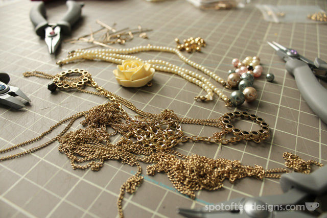 Misc Gold Jewelry materials | spofoteadesigns.com