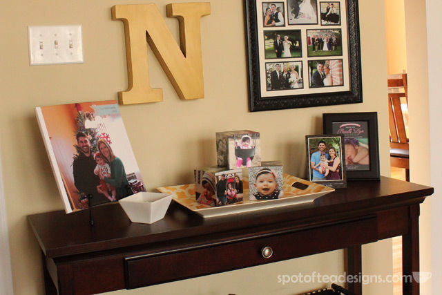 Family photo home decor accessories from @Shutterfly | spotofteadesigns.com