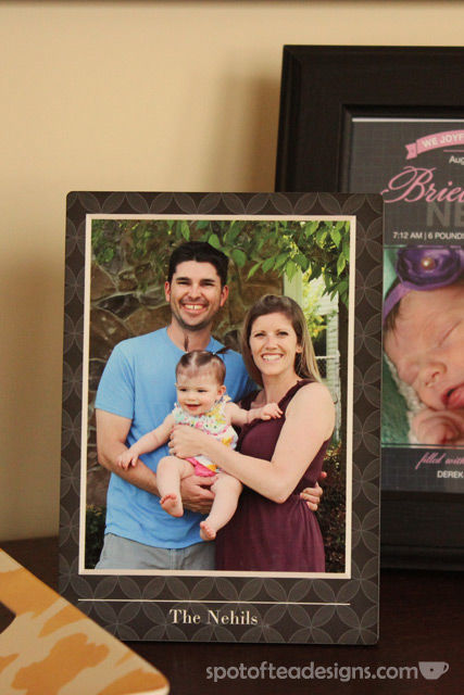 Family photo home decor accessories from @Shutterfly - metal plaque| spotofteadesigns.com