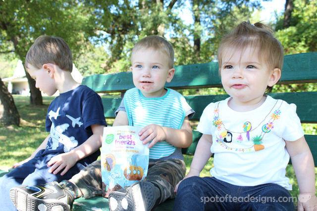 Happy Family Brands Best Friends Toddler Cookies: Chocolate Pumpkin Flavor for Fall | spotofteadesigns.com