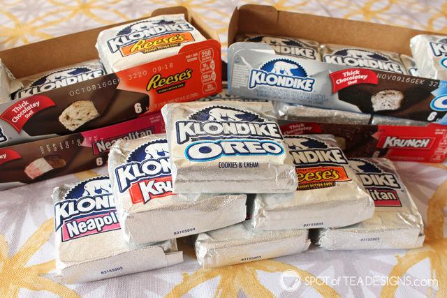 Klondike Stickless Ice Cream Bars = A perfect summer treat @KlondikeBar #IC #AD| spotofteadesigns.com