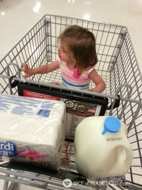 10 Things You Do When #Pregnant and overdue - go food shopping everyday   spotofteadesigns.com