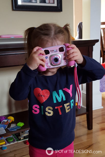 Top 10 Favorite Items for 2 year olds - Vtech camera | spotofteadesigns.com