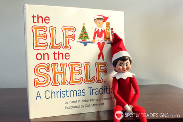 Elf on the Shelf Schedule with ideas for a 3 year old. Free #printable #elfontheshelf | spotofteadesigns.com