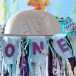 Under the Sea Birthday Party | First Birthday High Chair Garland