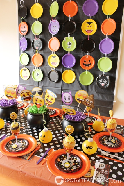 10+ paper plate party decor ideas - a cheap and easy way to make a big impact at a party across all different themes!   spotofteadesigns.com