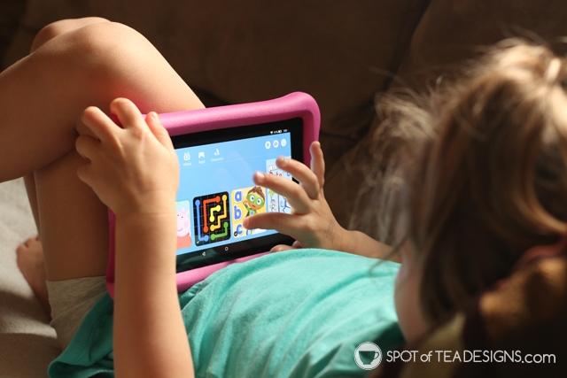 Our favorite Amazon fire apps for preschoolers | spotofteadesigns.com