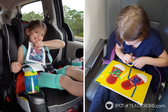 Favorite products for 4 year olds - travel items for the car or plane | spotofteadesigns.com