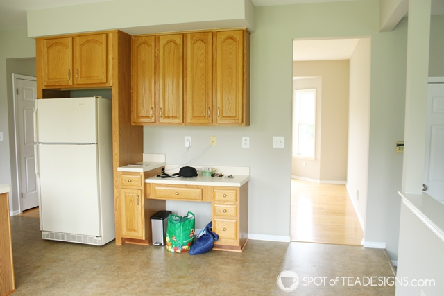 "Nehil Home Tour: the ""before"" photos - kitchen | spotofteadesigns.com"