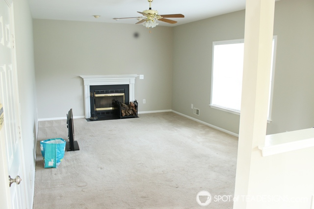 "Nehil Home Tour: the ""before"" photos- living room 