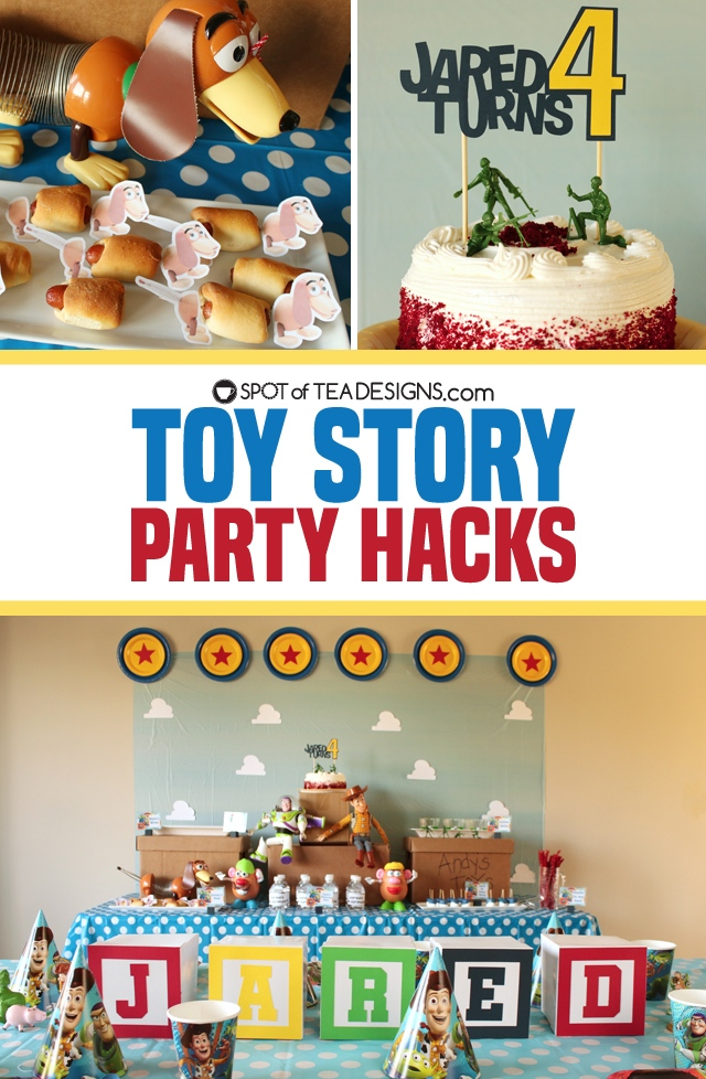 Toy Story Party Hacks to throw a cute party on budget | spotofteadesigns.com