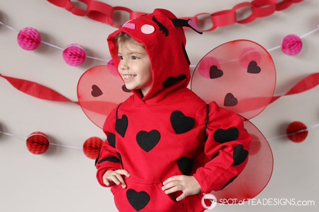 DIY Hoodies for kids - lovebug | spotofteadesigns.com