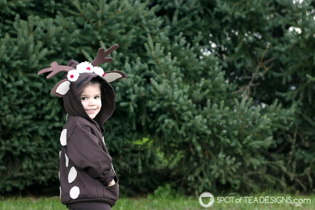 DIY Hoodies for kids -reindeer   spotofteadesigns.com