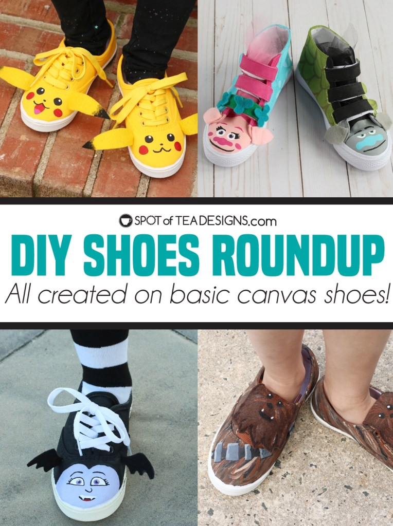 DIY Shoes Roundup | spotofteadesigns.com