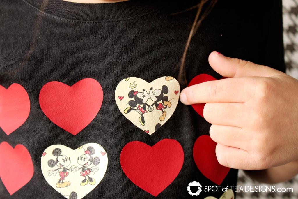 Cricut Disney Pattern Vinyl ideas - customize t-shirts, storage tubs and gifts | spotofteadesigns.com