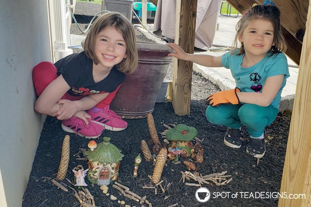 Favorite outdoor toys for kids - fairy gardens   spotofteadesigns.com