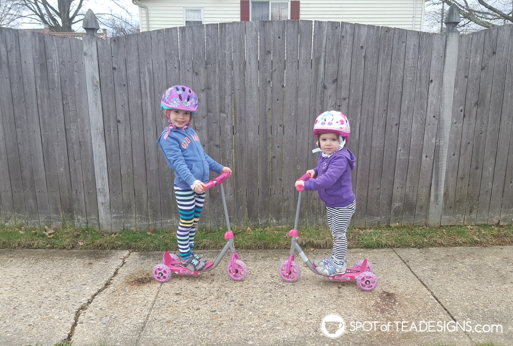 Favorite outdoor toys for kids - razer jr scooters | spotofteadesigns.com