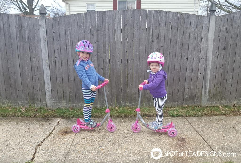 Favorite outdoor toys for kids - razer jr scooters   spotofteadesigns.com