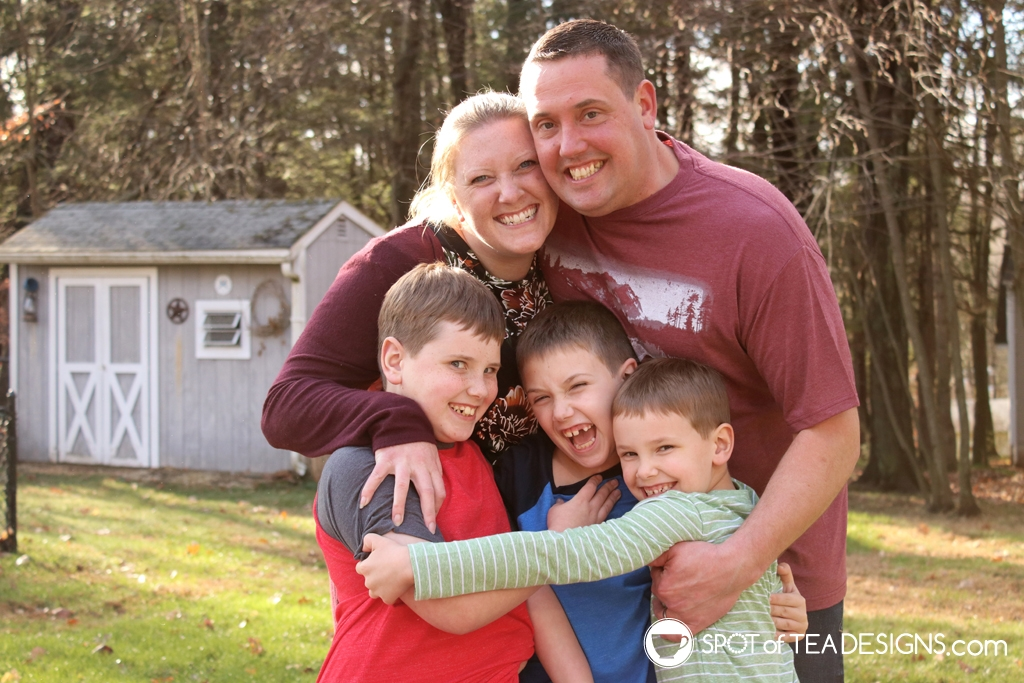 Family Photography examples | spotofteadesigns.com