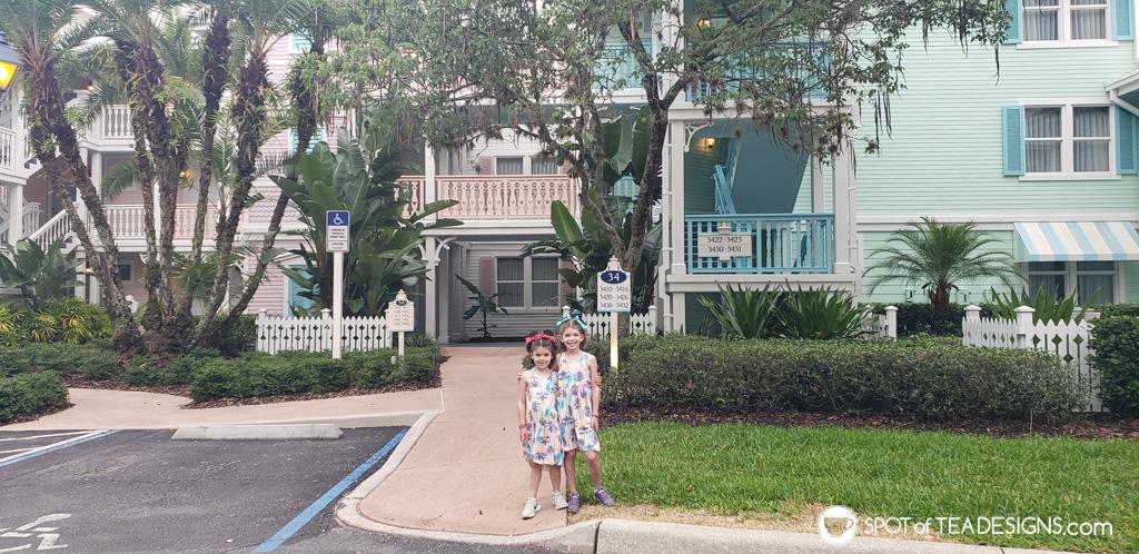 Disney World Budget - Old Key West Hotel | spotofteadesigns.com
