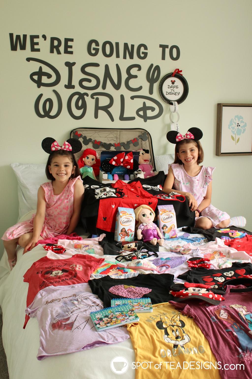Tips for a fun Disney World Reveal | spotofteadesigns.com