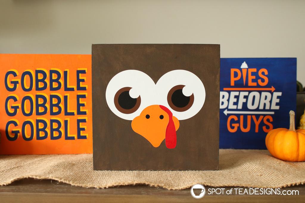 Thanksgiving Wood Signs   spotofteadesigns.com