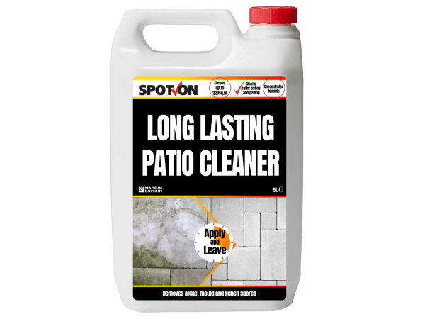 SPOT-ON Long Lasting Patio Cleaner 5 litre Concentrate