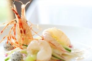 Oru Cuisine: spot prawn ceviche