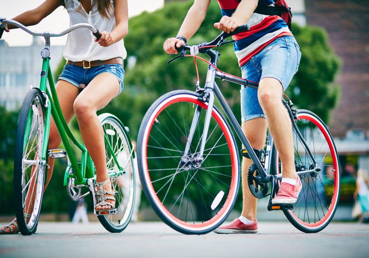 bike-bicycle-couple