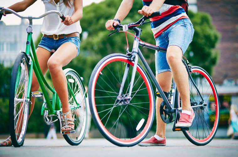 bike-bicycle-couple