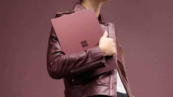 画像2: Microsoftがニューヨークで開催されたプレス向けイベントにて新しく発表したSurfaceブランドのデバイス、Surface Laptopは13.5インチのラップトップでwindows 10 Sを搭載しています!最上位モデルはCore i7プロセッサに16GB RAM、256GB SSDストレージと高スペックです。 The post MicrosoftのSurface Laptopは999ドルより、Windows 10 Sを搭載! appeared first on Spotry.me. spotry.me