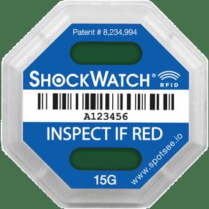 ShockWatch RFID Unactivated SpotSee Impact Indicators