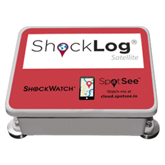 ShockLog Satellite SpotSee Impact Monitors