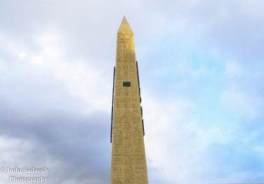 Luxor Las Vegas obelisk